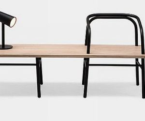 Table Bench Chair by Sam Hecht
