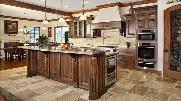 Traditional cabinets a versatile choice for any home for Traditional home kitchen ideas