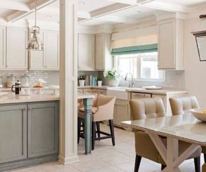 Sophisticated kitchen and bathroom designs by Tobi Fairley