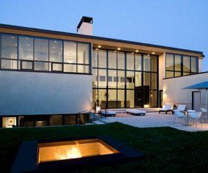 Twist minimalist house by Randy Brown Architects
