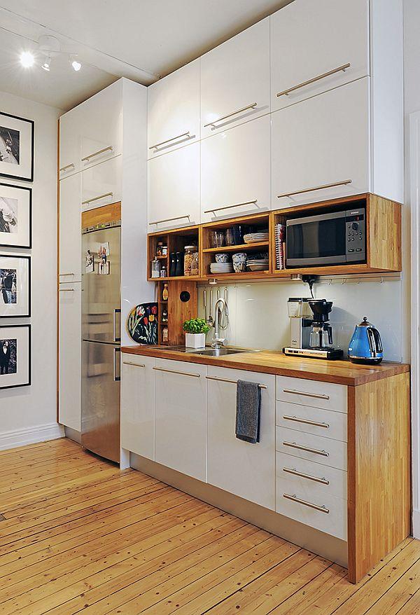 white interior design kitchen