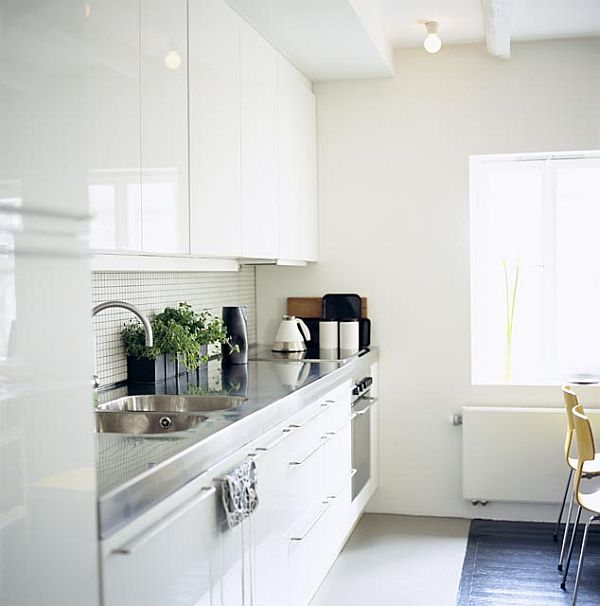 White Interior Design Kitchen
