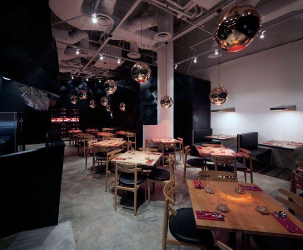 Wine bottle inspired restaurant in singapore the tasting