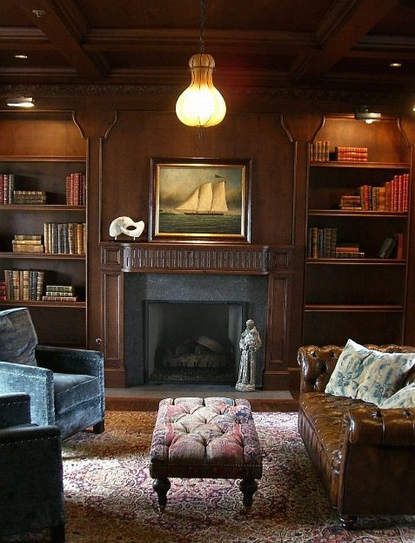 Beautiful Wood Paneled Rooms: Multifunctional Wood Paneling For Walls