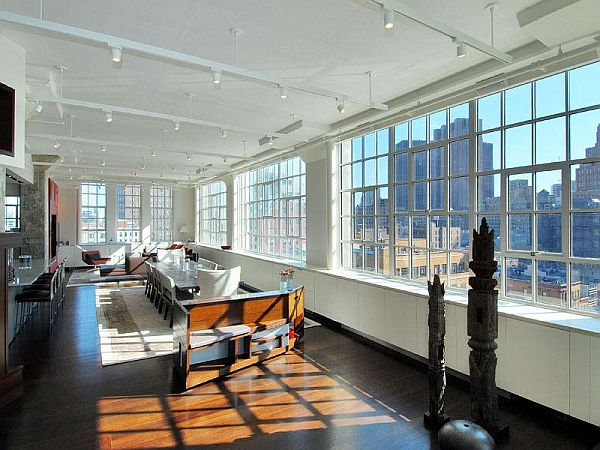 Modern but expensive new york loft for sale for Loft new york affitto