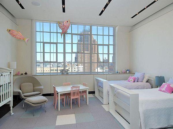 145 Hudson Street Loft kids room