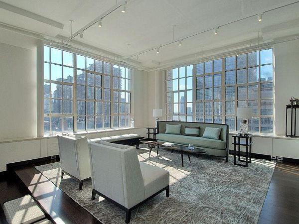 145 Hudson Street Loft living
