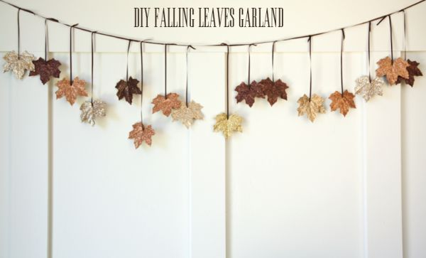 Another type of garland for autumn