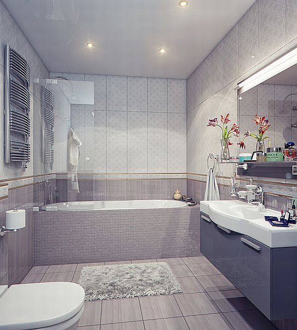 Vintage And Modern Bathrooms By Irina Schastlivaya - Vintage modern bathroom