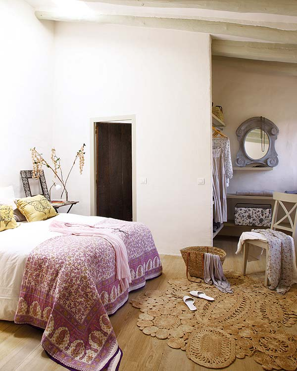 Bright Rural Residence in Girona bedroom