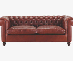 Chesterfield sofa weiss  Black Tufted Chesterfield Sofa Bed by Per Weiss