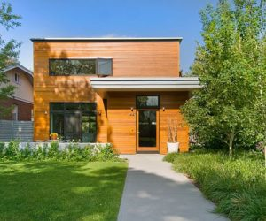 Two storey modern residence on 1441 S. Clarkson Street for sale