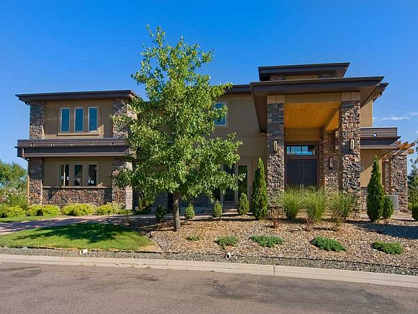 Contemporary residence in Littleton