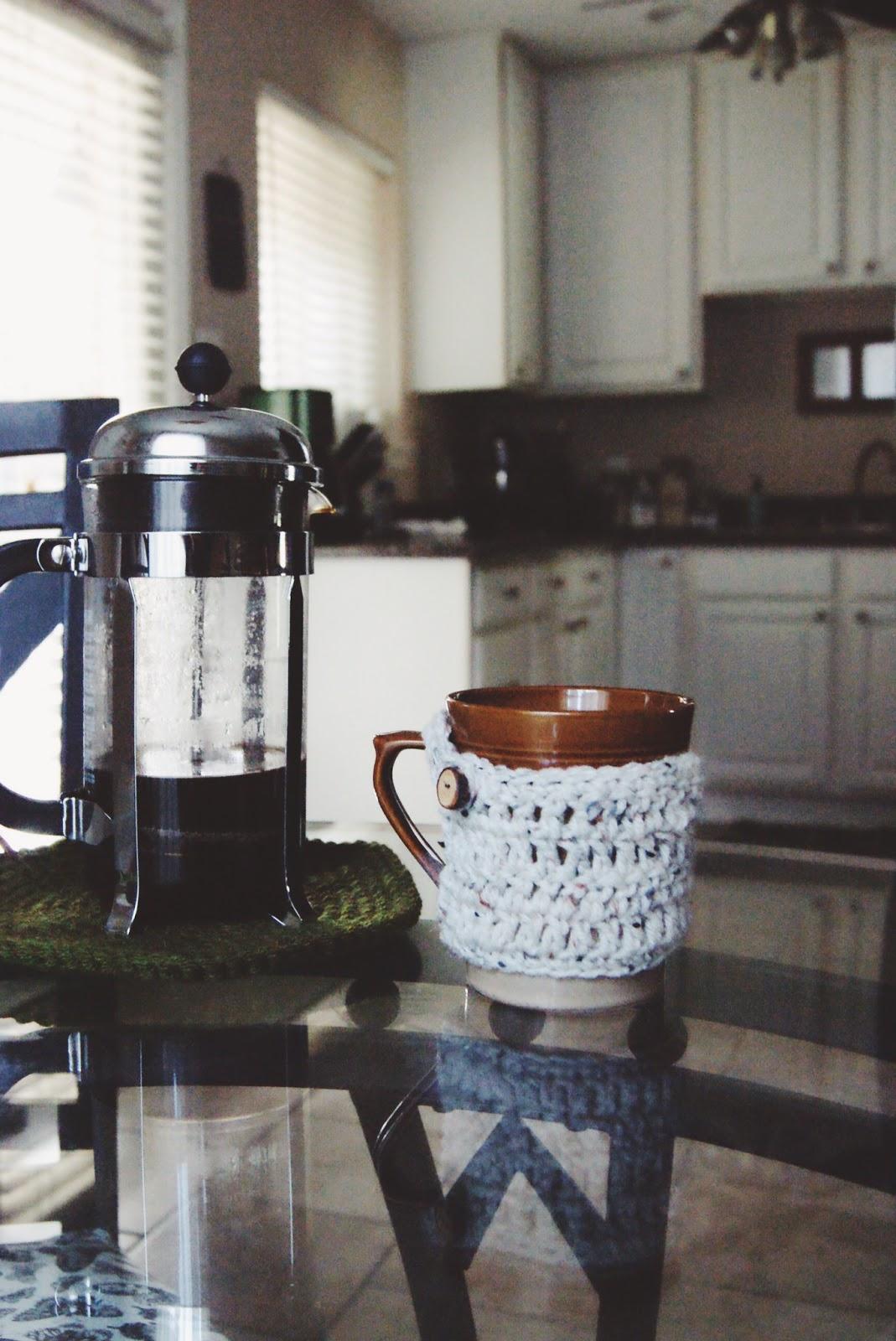 Crocheted Cozy Mug