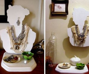 Practical DIY Jewelry Bust