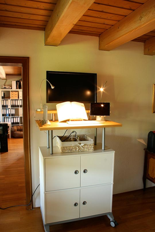 build your own home office. diy standing desk build your own home office l