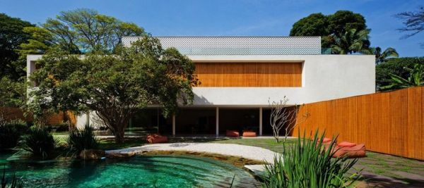 Extravagant House By Marcio Kogan - Fantastic-nature-retreat-by-marico-kogan