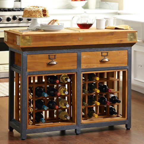 french chef s kitchen island with wine racks rh homedit com kitchen island with wine rack kitchen cabinet with wine rack