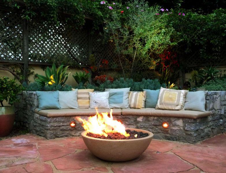Garden fire bowl