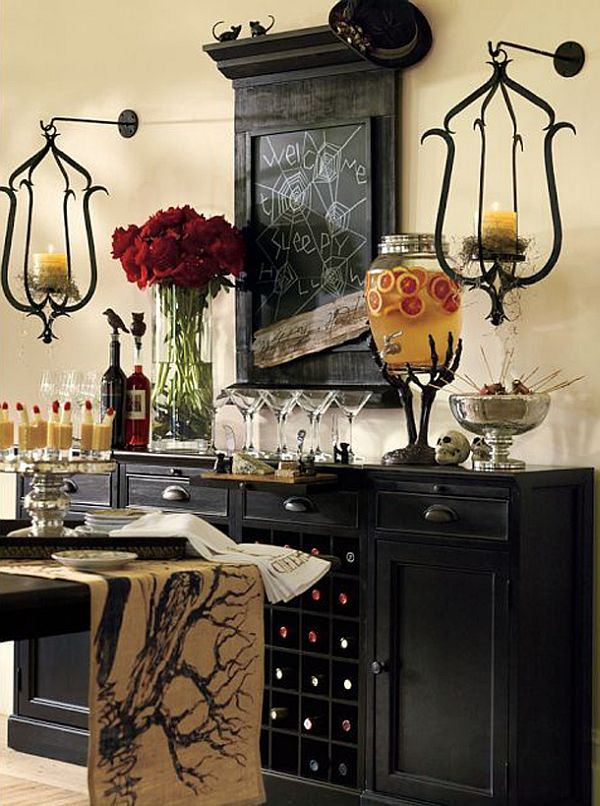 Some more halloween decorating ideas for Deco de table halloween