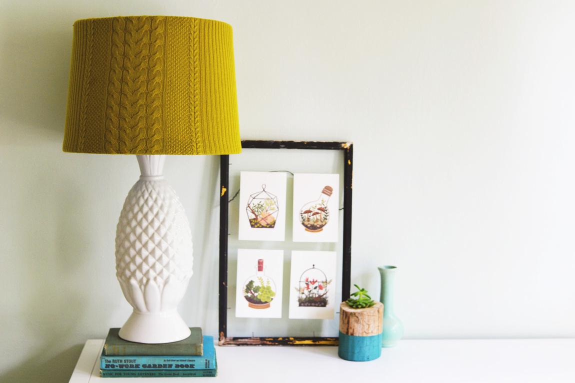 Lampshade knit