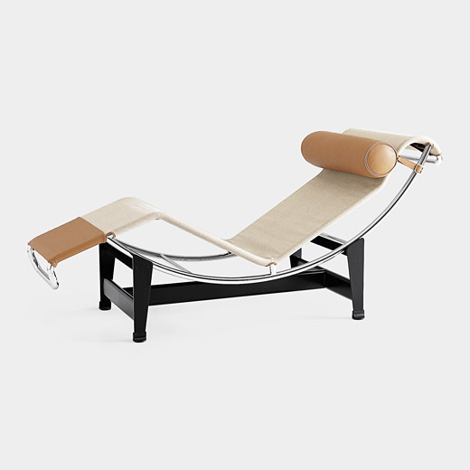 modern and comfortable le corbusier chaise longue. Black Bedroom Furniture Sets. Home Design Ideas