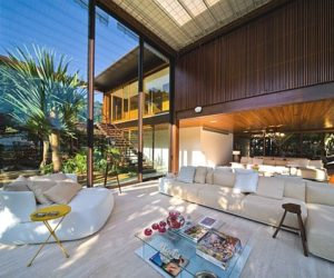 Modern Laranjeiras Residence in Brazil