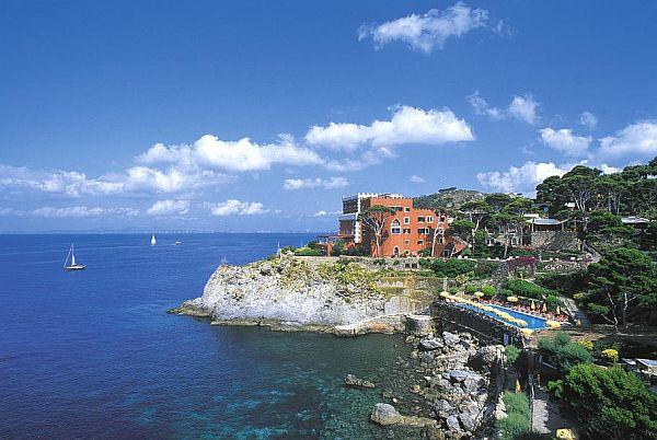 The luxury Mezzatorre Resort & Spa