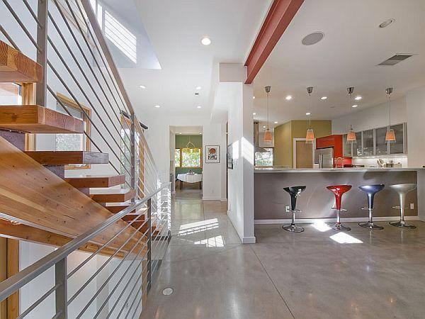 Modern 2-story residence in Mayfair