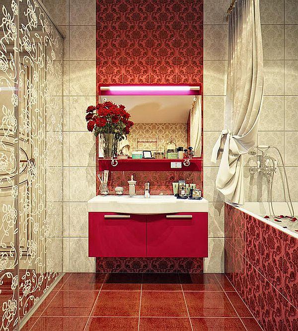 Vintage And Modern Bathrooms By Irina Schastlivaya