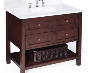 Chic New Yorker Bathroom Vanity