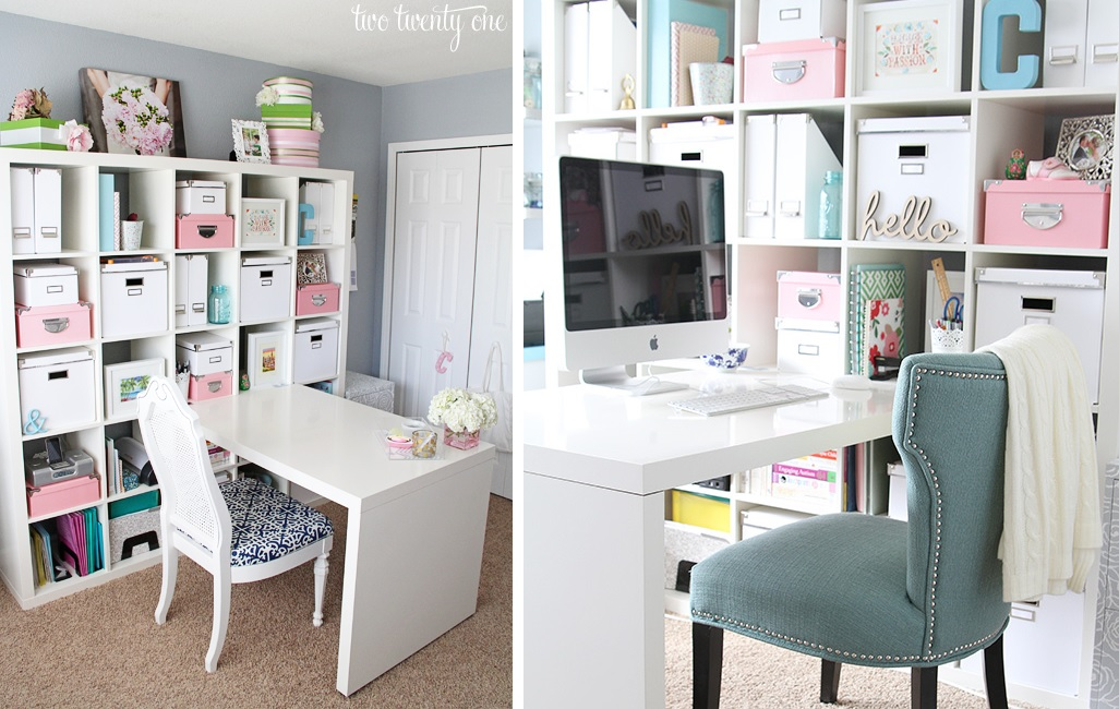 How to give your craft room a makeover to make it more fun for Building a craft room