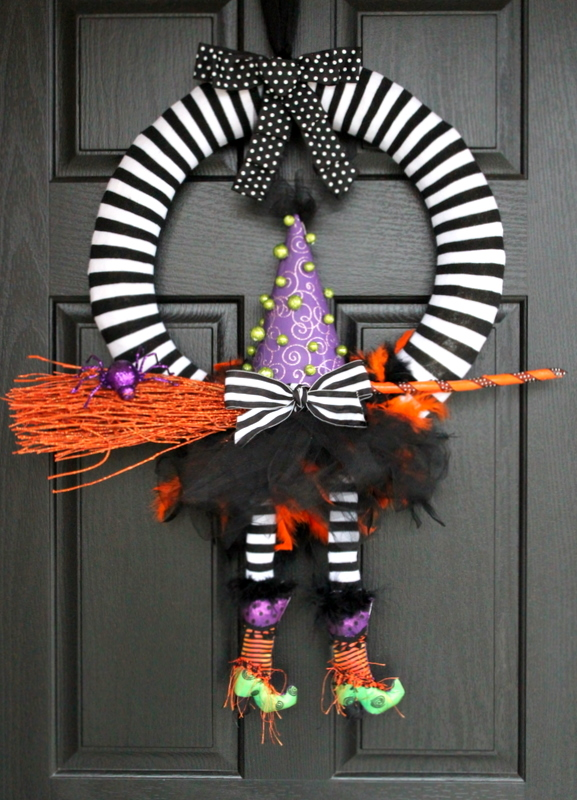 Perfect Halloween Wreath