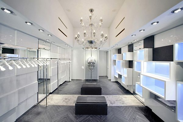Ultra-Contemporary and Luxurious Philipp Plein Store by AquiliAlberg