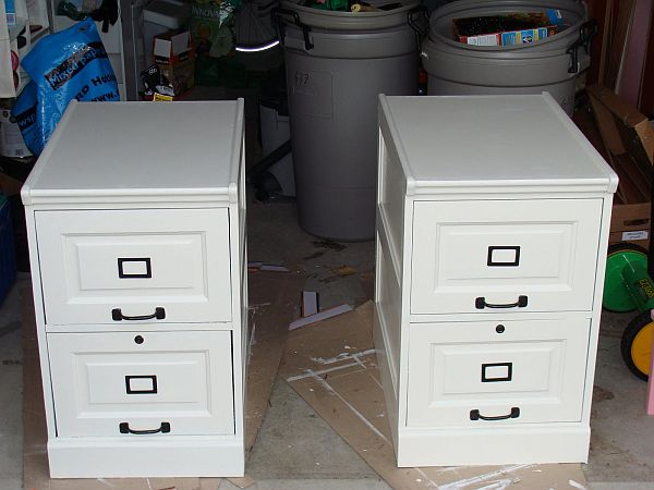 white desk with file drawer 20 diy desks that really work for your home office 28557