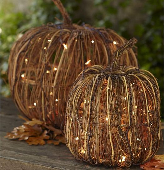 Beautiful Decorative Pumpkin with Lights