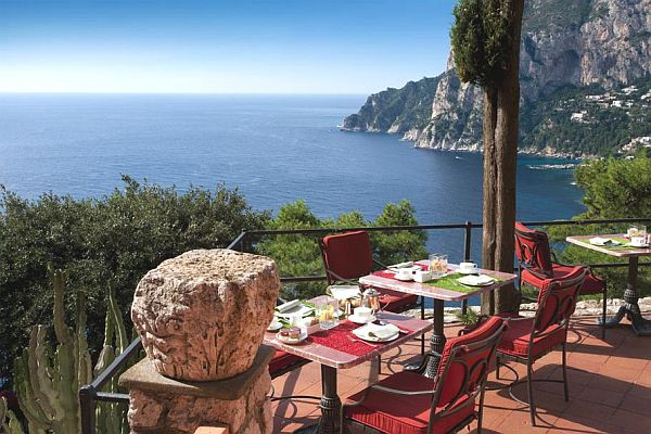 Punta Tragara Hotel in Italy