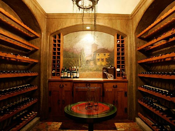 Willow Ranch wine room