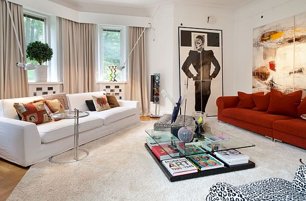 High class apartment in a historic building for Build a living room