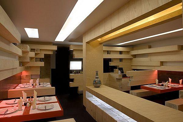 A Minimalist Restaurant