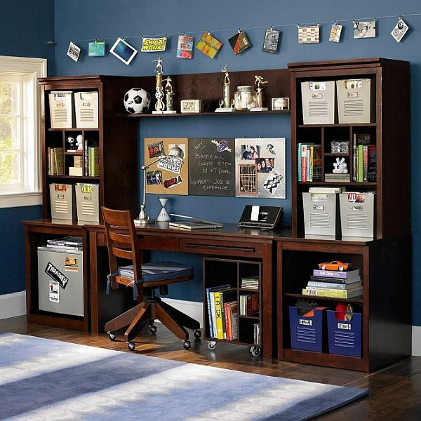 Office Inspiration For Teen Boys