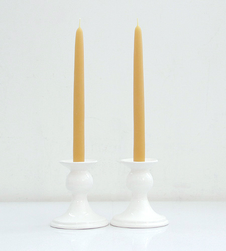 White Ceramic Candlestick Holders Ideas