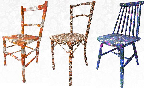 Lovely Unique Vintage Chairs By Mel Images