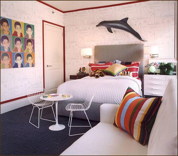 18 children room design ideas for Funky bedroom designs