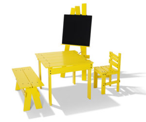 "The ""play"" children's furniture collection by jesper k. thomsen"