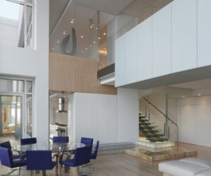 ... Penthouse Apartment In A House By Krueck U0026 Sexton Architects