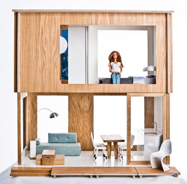 Eco Barbie dollhouse inspired by IKEA