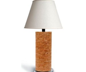 Handcrafted Cork lamps by Robyn Brooks