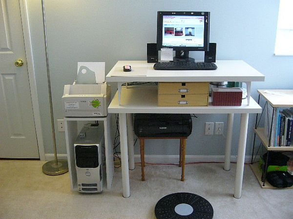 Lovely DIY Standing Desk. Part 21