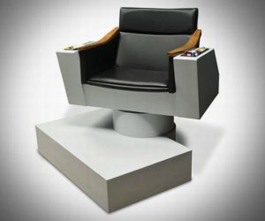 Meticulously Detailed James T. Kirk Captain's Chair